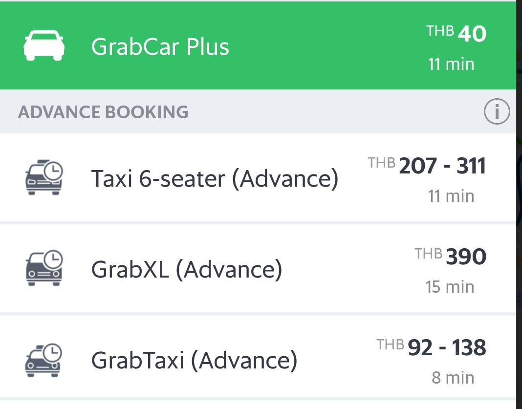 タイでUberがサービス終了、今後はGrabのアプリを使いましょう